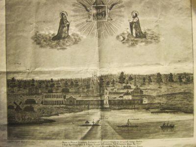 Возрождение монашеской жизни в древней обители