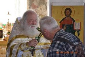 2016 год. Приезд протоиерея Валериана Кречетова в Клименецкий Свято-Троицкий монастырь.