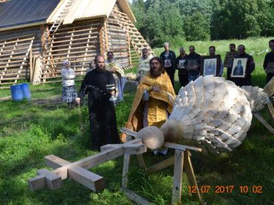 Строительство храма Святителя Николая (часть вторая)