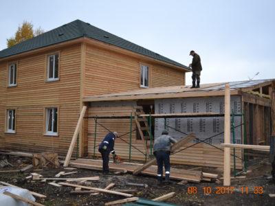 Строительство келейных корпусов. 2017