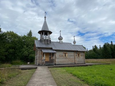 Программа Ефима Овчинникова «Самое время» снятая в Клименецком монастыре